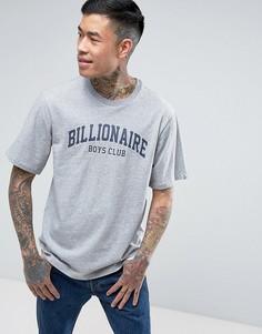 Серая футболка Billionaire Boys Club College - Серый
