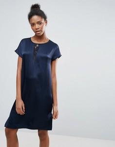 Платье А-силуэта Vila - Темно-синий
