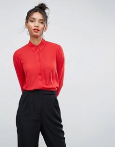 Блузка ASOS - Красный