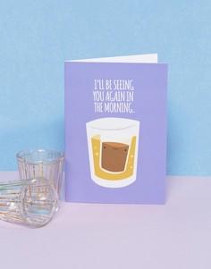 Поздравительная открытка Birthday Shots Jolly Awesome - Мульти