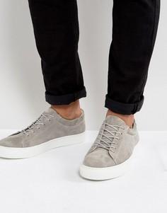 Замшевые кроссовки Jack & Jones Galaxy - Серый