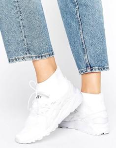 Белые кроссовки Asics Knit Mid Gel-Kayano - Белый