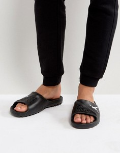 Черные шлепанцы Nike Jordan 716985-011 - Черный