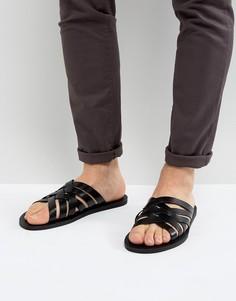 Сандалии с ремешками ALDO Badino - Черный