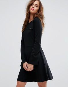 Платье с карманами Supertrash - Черный