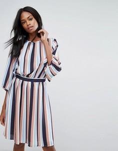 Платье в полоску Y.A.S - Мульти