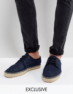 Сетчатые эспадрильи на шнуровке Hudson London эксклюзивно для ASOS - Темно-синий