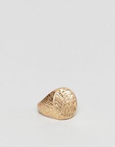 Кольцо-печатка ASOS - Золотой