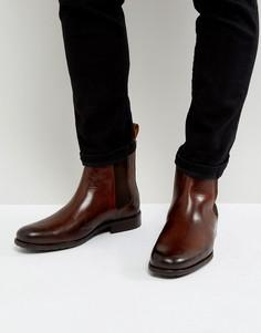 Кожаные ботинки челси Zign - Коричневый