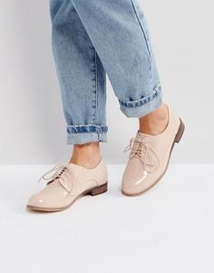 Туфли на шнуровке London Rebel - Бежевый