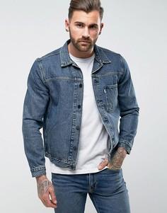 Джинсовая куртка Levis Line 8 - Синий