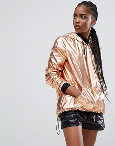 Куртка цвета металлик New Look - Медный