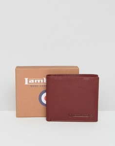 Классический бумажник с отделениями для карт Lambretta - Красный