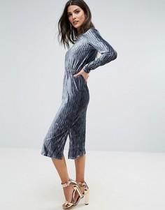 Платье миди Glamorous - Темно-синий