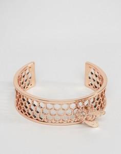 Позолоченный браслет с пчелой Bill Skinner - Золотой