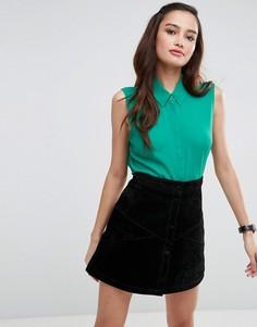 Блузка без рукавов ASOS - Зеленый