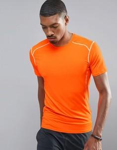 Футболка неоново-оранжевого цвета New Look SPORT - Оранжевый