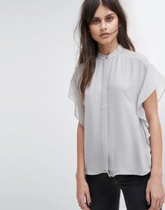 Прозрачная рубашка AllSaints Mila - Серый