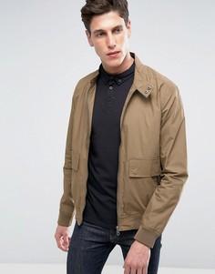 Легкая куртка с двумя карманами Threadbare - Светло-серый
