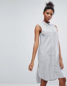 Платье-рубашка в полоску Only - Мульти