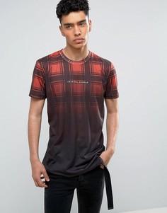 Черная футболка в шотландскую клетку Criminal Damage - Черный
