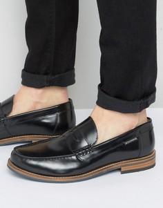 Черные кожаные пенни-лоферы Ben Sherman Stepney - Черный