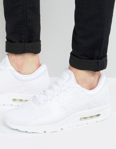 Белые кроссовки Nike Air Max Zero 876070-100 - Белый