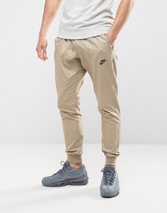 Бежевые тканые джоггеры Nike 805098-235 - Бежевый