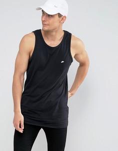 Черная базовая майка Nike Modern 886030-010 - Черный