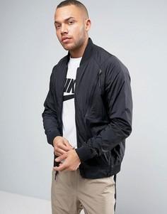 Черная университетская куртка Nike Tech Hypermesh 832190-010 - Черный