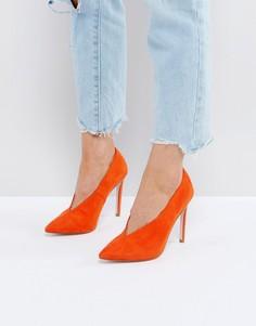 Туфли на высоком каблуке ASOS PRIORITY - Оранжевый