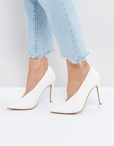 Туфли на высоком каблуке ASOS PRIORITY - Белый