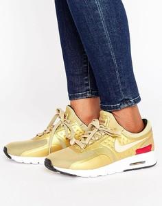 Золотистые кроссовки Nike Air Max Zero - Золотой