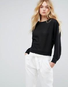 Блузка из крепа Soaked In Luxury - Черный