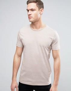 Полосатый топ Selected Homme - Светло-серый