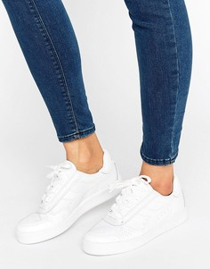Белые кроссовки Diadora B. Elite - Белый