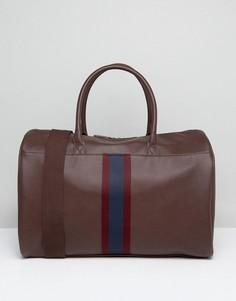 Коричневая сумка с отделкой ASOS - Коричневый