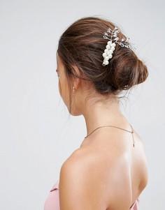 Заколка для волос с искусственным жемчугом ASOS Wedding - Кремовый