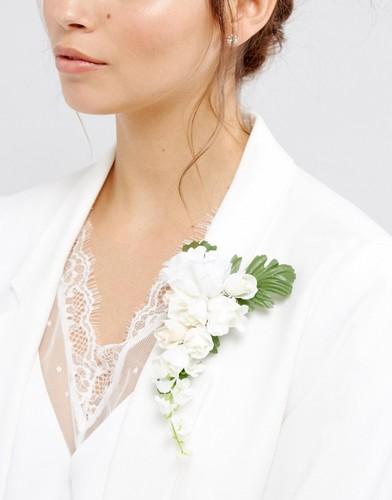 Нарядная брошь ASOS Wedding - Мульти
