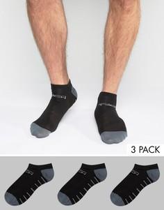 3 пары низких спортивных носков Jack & Jones Tech - Черный