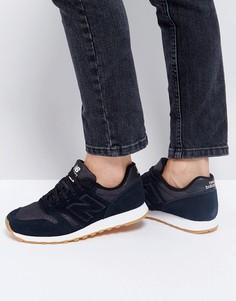 Черные кроссовки New Balance 373 - Черный