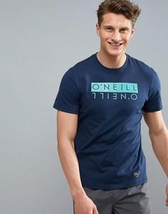 Синяя футболка с логотипом ONeill Duo Hybrid - Синий O`Neill