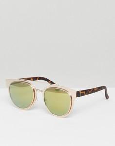 Солнцезащитные очки New Look - Коричневый