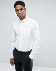 Облегающая льняная рубашка Jack & Jones - Белый