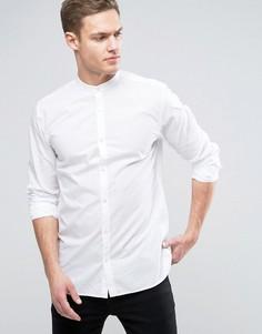 Фактурная рубашка узкого кроя Jack & Jones Premium - Белый