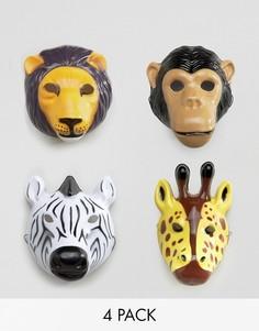 Карнавальные маски с изображением животных Temerity Jones - Мульти