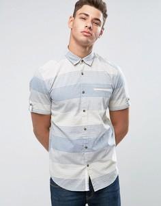 Рубашка с короткими рукавами Esprit - Синий
