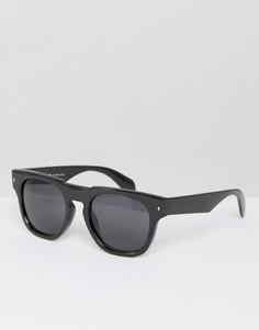 Черные круглые солнцезащитные очки AJ Morgan Deviant - Черный