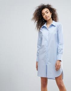 Удлиненная рубашка Gestuz Valla - Синий
