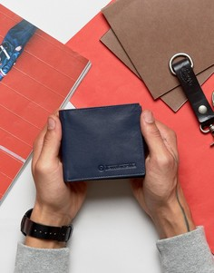 Классический бумажник с отделениями для карт Lambretta - Темно-синий